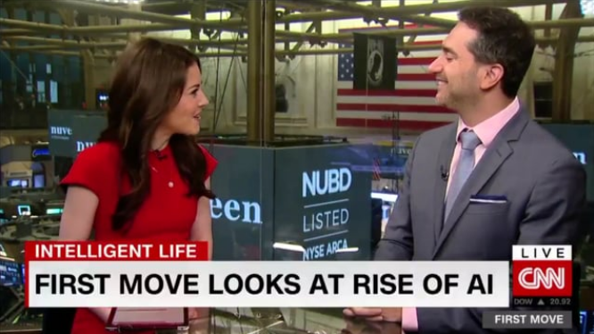 CEO Spencer Gerrol on CNN's First Move